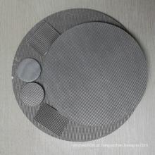 Malha de aço inoxidável do metal do fio do filtro