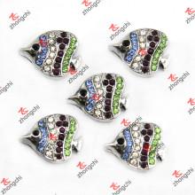 Tropical Fish Slide Charms für Mode Leder Armband (SC123)