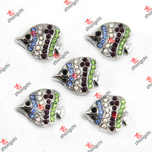Tropical Fish Slide Charms for Fashion Leather Bracelet (SC123)