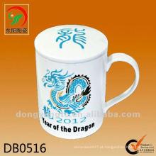 Canecas de dragão china atacado direto da fábrica com tampa