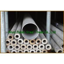 Preço de aço inoxidável da tubulação da força de alta elasticidade 304 por o medidor