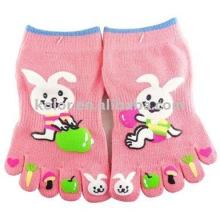 Children's cute toe socks