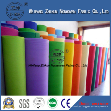 Colorful Spunbond Nonwoven Fabric for Gift Bags/Shopping Bags