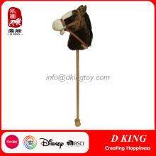 Plush Stick Toy Horses Wooden Hobby Horse pour enfants