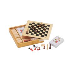 Juego de ajedrez de madera del juguete del tablero de ajedrez (CB2202)