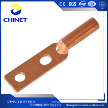 Dt2-F Type Square Head Double Hole Copper Terminal