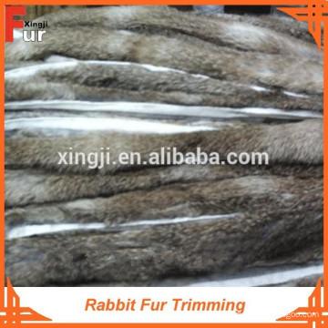 Erste Qualität natürliche Kaninchenfell trim