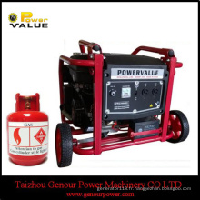 Générateur alimenté par GPL 6kw 6kVA à bas prix