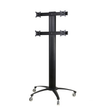 "Public TV Floor Stand 6-Monitor 10-24"" (AVD 004A)"