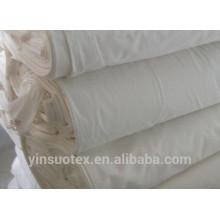 Twill Gewebe, ungebleichter Stoff für Kleidung, Blatt und Hotel Bettwäsche verwendet
