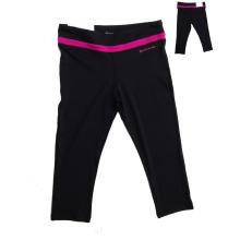 Дамы бег одежда, одежда йоги, спортивные брюки, Леггинсы, обтягивающие брюки, фабрика по bsci