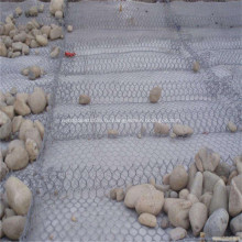 Камень Заполненный ПВХ Покрытый Габион Корзина Стены Сада