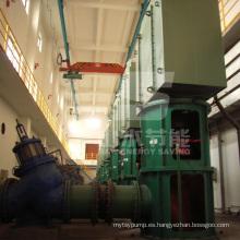Bomba de turbina vertical para instalaciones industriales
