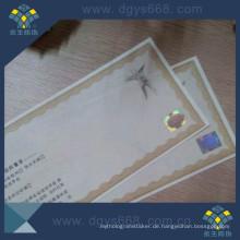 Heißprägefolie Zertifikat Drucken
