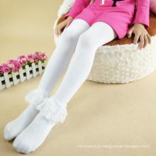 calças de vestido da meia-calça do laço das meninas do bebê / calças de choque longas para a cor das meninas 3 dos miúdos