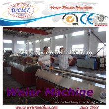 WPC flooring/decking/fencing boards machinery(seashore application)