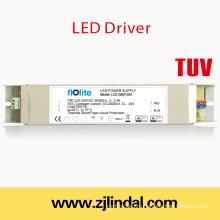 80W светодиодный драйвер постоянный ток (металлический корпус)