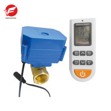 Válvula eléctrica del actuador de la bola 24v dc de la bola del pvc del agua