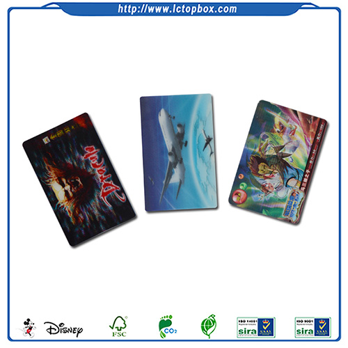Special Colorful Paper Cartoon Cards