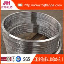 Aço Carbono 1500lb RTJ soldadura pescoço Flange / A105