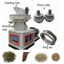 wood biomass pellet mill vertical ring die/ring roller dies