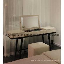 Mobiliario moderno aparador de espejo de madera (SD-25)
