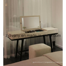 Mobilier moderne en bois miroir habilleuse (SD-25)