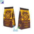 Custom printed aluminum foil wholesale tea packaging bag