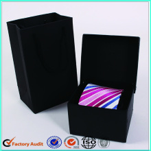 Luxury+Square+Black+Tie+Packaging+Boxes