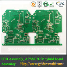 pcb/pcba made in china power amplifier pcb