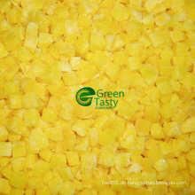 Chinesische IQF gefrorene gelbe Pfeffer neue Ernte