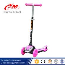 2017 Alibaba China fabrik neue modell kinder roller / großhandel 3 rad billig kinder roller / top qualität Spaß spielzeug kinderroller