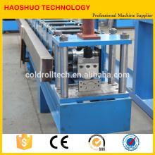 Rollo de acero enrollable Slat Roll que forma la máquina