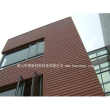 Hotel External Wall Shed WPC Protective Anti-UV Wetproof WPC Wall Panel