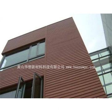 A bio madeira fácil de Eco instala revestimentos da parede do custo baixo WPC do painel