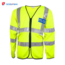 MEDIANA damas ANSI CLASE 2 Cinta reflectante / chaleco de seguridad de alta visibilidad