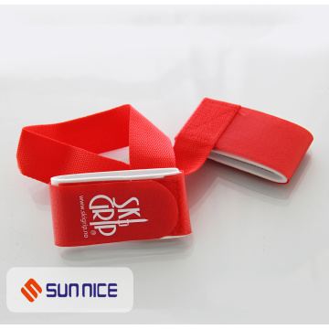 Logo Printed Self-Locked Ski Strap