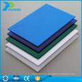 10mm 100% lexan opaco policarbonato plástico acrílico hoja