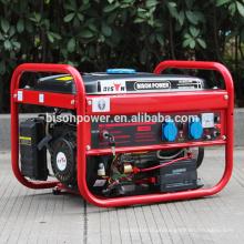 BISON (CHINA) Super Promoção! China Portable Fuel Less Gerador de Motor