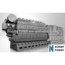1600kW 500RPM Guangchai Heavy Oil Genset
