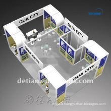 Factory direct Design & Custom portable display exhibition booth from Shanghai