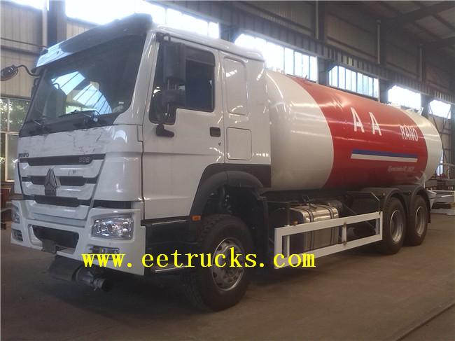 12 MT Propane Tanker Trucks