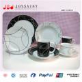 Wholesale Porcelain Rectangular Dinner Divided Plate for Restaurant