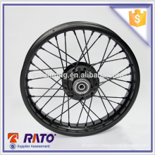 "Hot sale China exporter black 16"" disc-brake motorcycle spoke wheel"