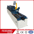 Metal wall stud channel making machine