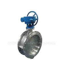 Resilient Seated Flange Butterfly Valve