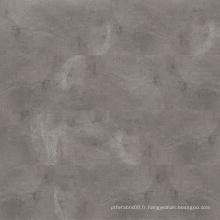Revêtement de sol en vinyle rigide LVT imperméable en pierre