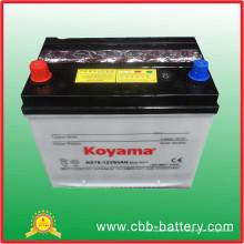 Démarrage rapide de la batterie de voiture automatique Ns70 (S) 12V65ah