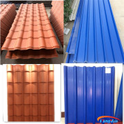 china factory supply plastic heat insulation roof tile/corrugated white plastic roof sheet/double wall plastic roof sheets