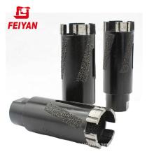 Hot sell dry  granite diamond drill core bit with M14 5/8--11